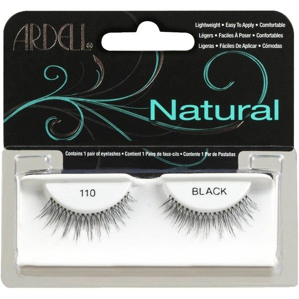 Ardell Fashion Lashes - Natural Lashes (5.09 CAD) ❤ liked on Polyvore featuring beauty products, makeup, eye makeup, false eyelashes, ardell, ardell fake eyelashes and ardell false eyelashes