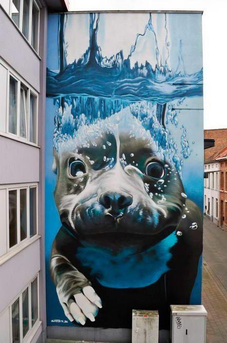 Arte urbano 47 - Maldito Insolente