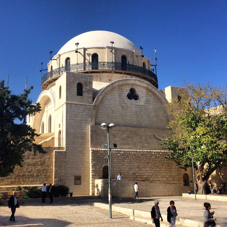 The renewed Hurva #synagogue in the #jewishquarter in the #oldcity of #jerusalem . It is worthwhile to visit the inside too! #visitjerusalem #oldcityjerusalem #ibookisrael