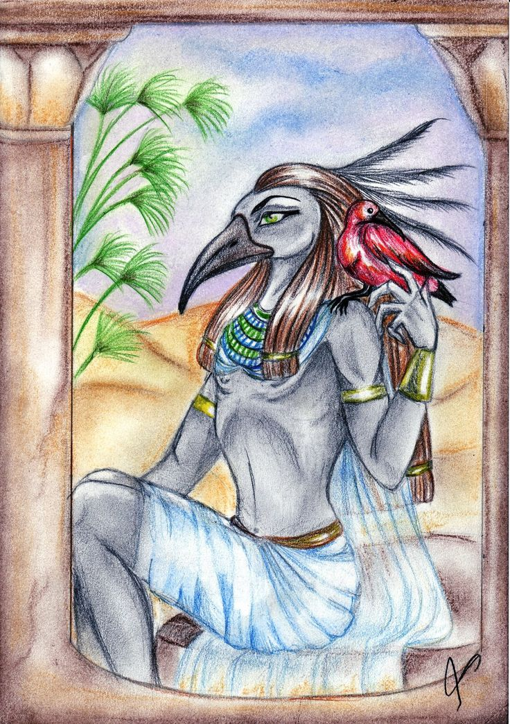 Egyptian God Thoth by SirLordAshram.deviantart.com on ...