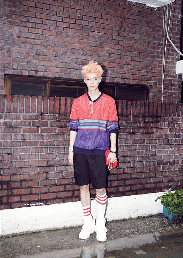 exo growl teaser luhan kpop pinterest photos
