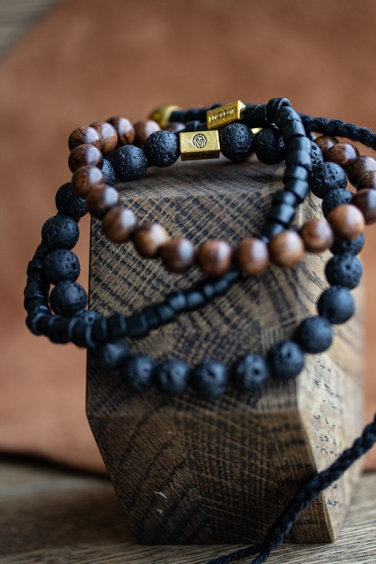 The Brown Miro Bracelet Stack
