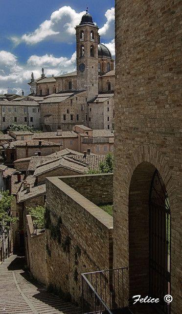 Urbino, Marche, Italy