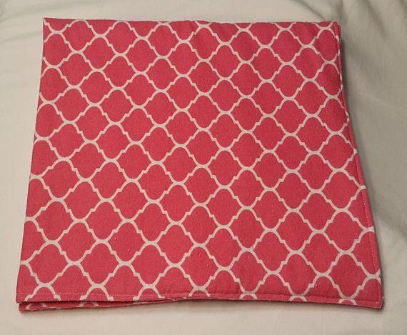 Car seat Blanket Bold Pink