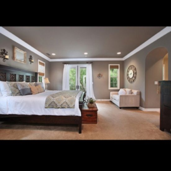 Grey Bedroom Ideas With Calm Situation: Calm And Relaxing Master Bedroom.