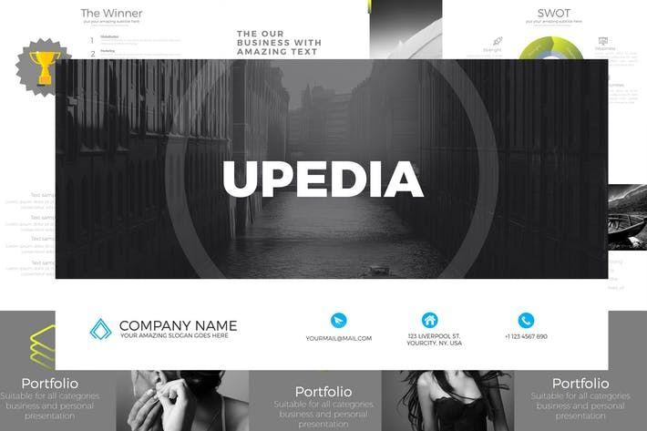 Upedia Google Slides By Artmonk On Envato Elements Powerpoint Templates Presentation Slides Templates Business Powerpoint Presentation