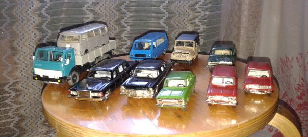 Советские масштабные модели автомобилей постепенно становятся раритетом ( Soviet scale models of cars are gradually becoming a rarity )