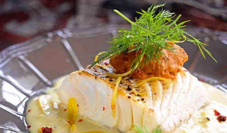 Cabillaud sauce citronnée