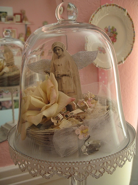 154 best cloches apothecary jars images on pinterest for Cloche verre decorative