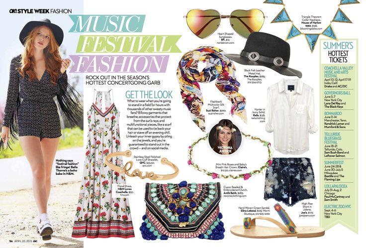 #ElinaLebessi sandals in OK! Magazine USA