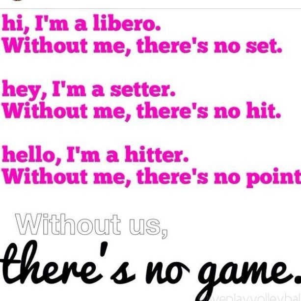 58 best Volleyball Quotes images on Pinterest | Volleyball quotes ...