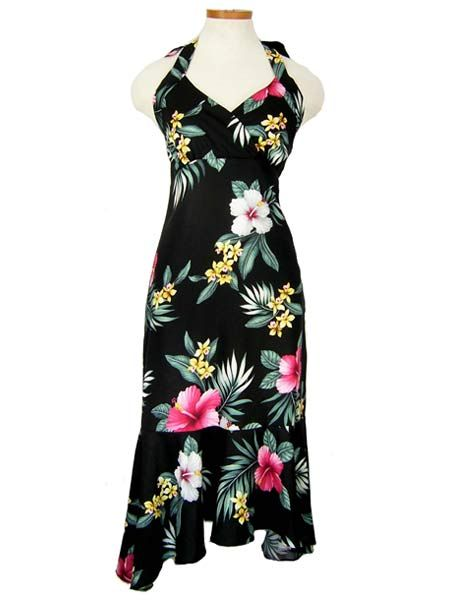 Plus Size Luau Dresses New Tube Top Hawaiian Print Dresses For Queens And Plus Sizes For