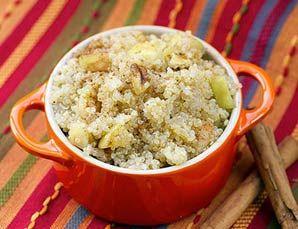 Quinoa & Apple Breakfast Warmer via Energise for Life #breakfast #recipe #alkali