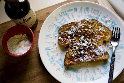 awesome french toast recipe - One of the most important things in this recipe is to get a good thick loaf of bread. I like to use brioche or challah.