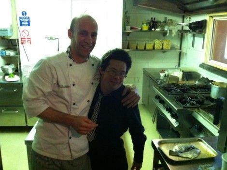 Sebastiano Elicona: lo chef portavoce dell'Italian food & wine a Dublino.
