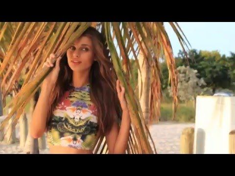 Joey Wright BTS // Featuring Annie Gustafsson for Montce Swim - YouTube