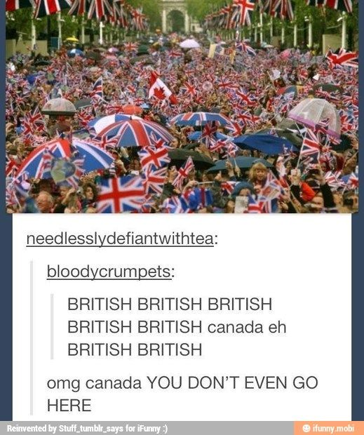 hahah u dont even go here canada!!!