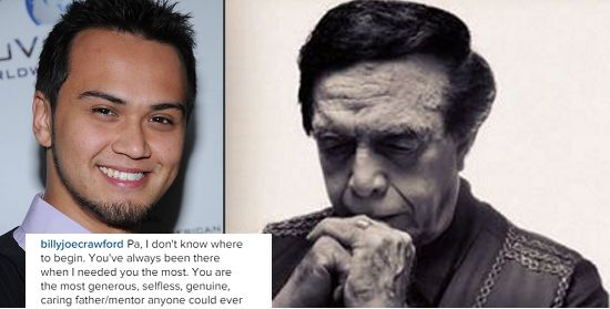 Billy Crawford mourns death of Pa Kuya Germs #RagnarokConnection