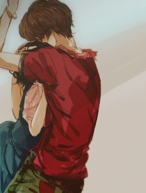 Zankyou no Terror, fan art: Mishima Lisa and Twelve (M: Mkay... Maybe I ship them a little... )
