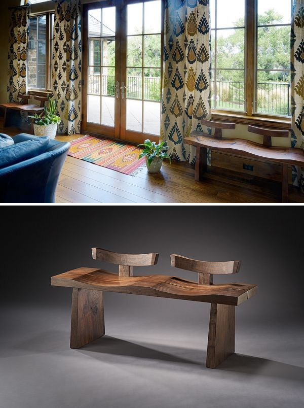 Tandem By Brian Hubel At Private Residence Denver Solid Wood Furniture Custom