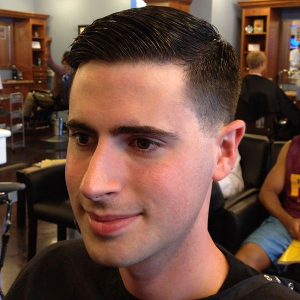 This Is A Classic Taper. The Hair Is Cut Aggressively