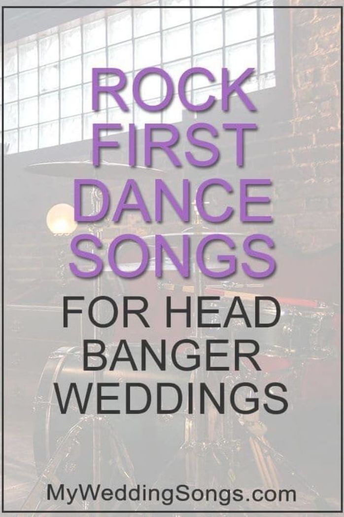 Love Rock Music Tired Of The Popular Wedding Songs Used Over And Over Check Our Our First Dance Songs First Dance Wedding Songs Father Daughter Dance Songs
