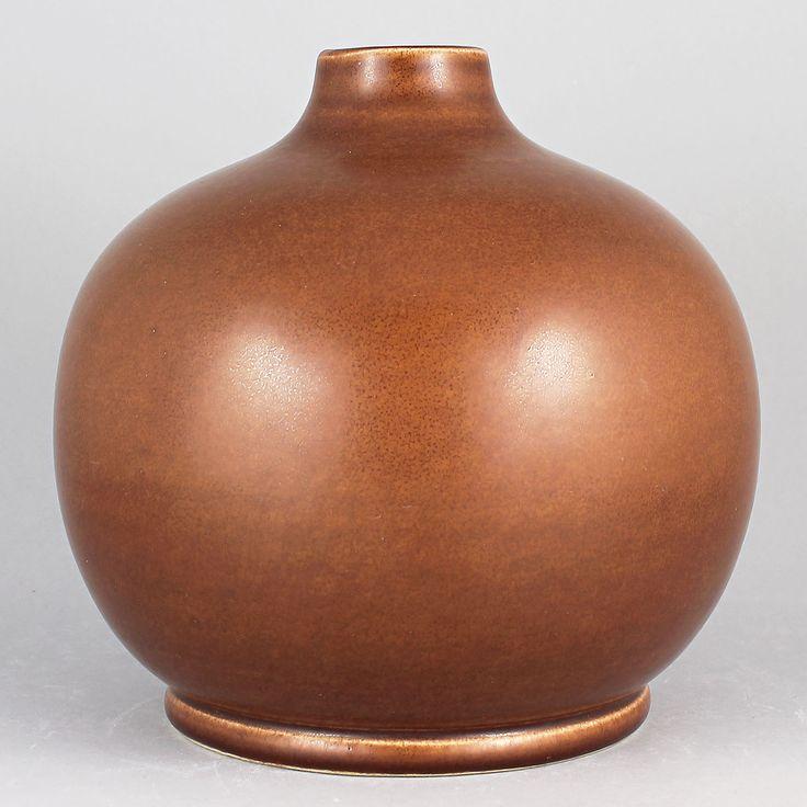 Gertrud Lönegren (1930s) Unique Swelling Vase