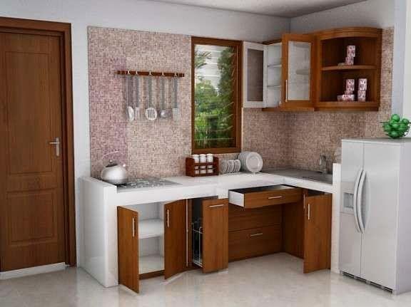 dapur minimalis terbaru