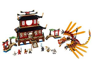 Lego Ninjago Spinner Battle