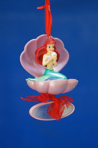 465 best disney christmas decorations images on pinterest for Ariel christmas decoration