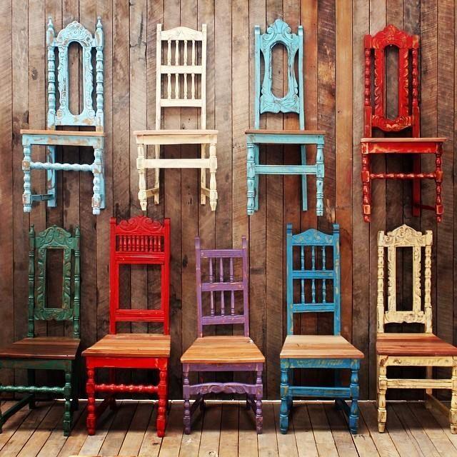 M s de 25 ideas incre bles sobre sillas de comedor for Comedor vintage chile