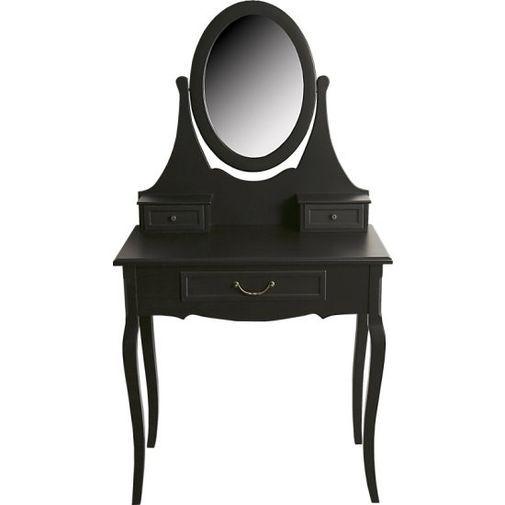 Bella sminkbord svart i gruppen Möbler / Förvaring hos Chilli AB (ACB114314B)