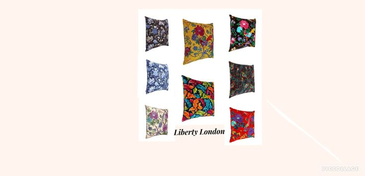 Liberty London showcase their exquisite range of silk and linen cushions.  #LibertyLondon #exquisitecushions   www.libertylondon.com/