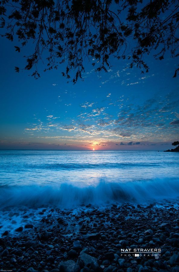 Sunrise at Talumben, Bali, Indonesia  (by Nathalie Stravers on 500px)