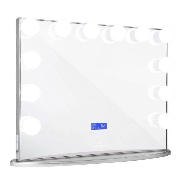Impressions Vanity Co. •Hollywood Glow Plus BT Vanity Mirror with Bluetooth Speakers
