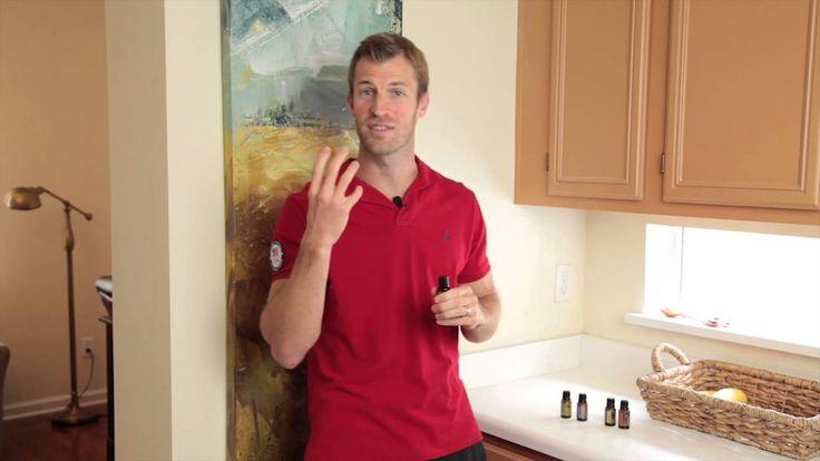 Essential Oils 101-Lemon, Peppermint, Lavender, and Frankincense, (Dr. Axe's favorite oils) benefits