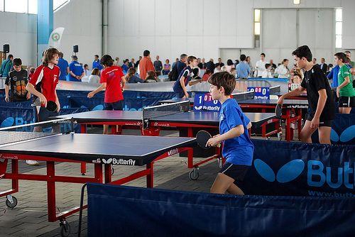 Il tennis tavolo riempie il Palaexpomar ai Giochi del Veneto