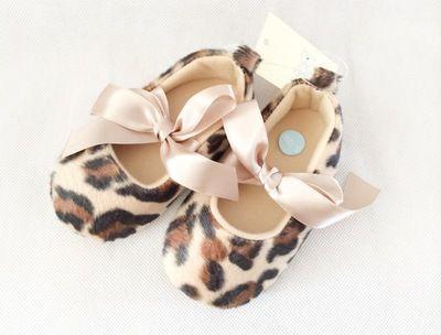 Princess Chloe Leopard Print Shoes