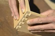 Nice dovetail joint.  I have not made one this nice looking yet.