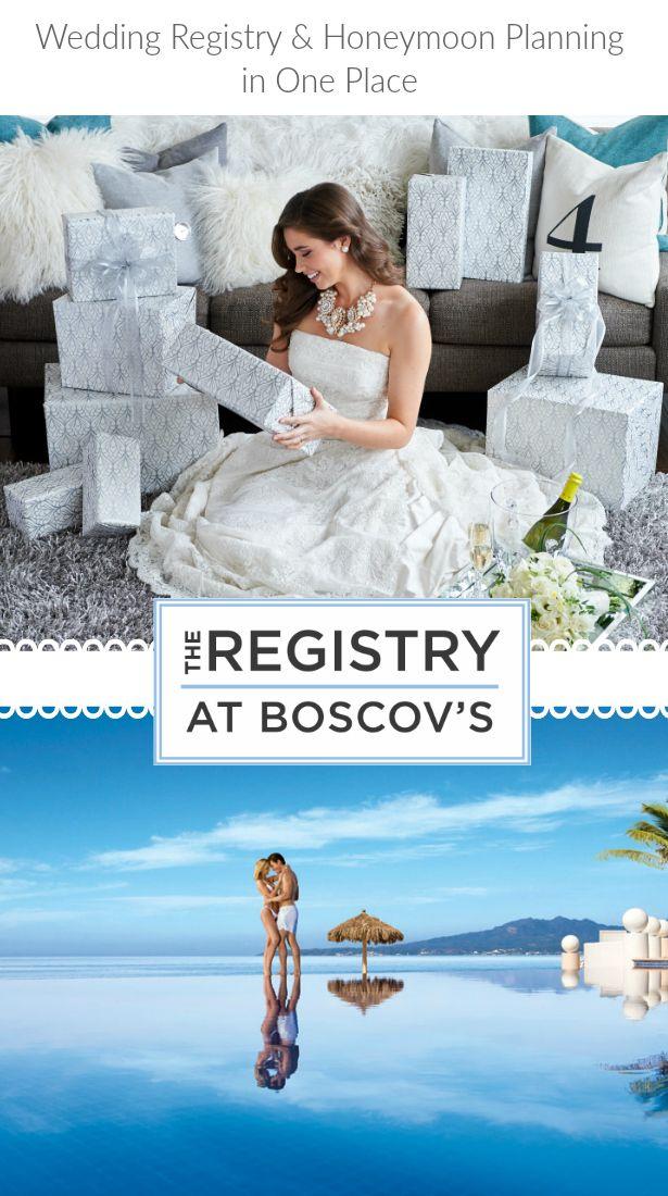 Wedding Registry and Honeymoon Planning at Boscovu0027su2026a