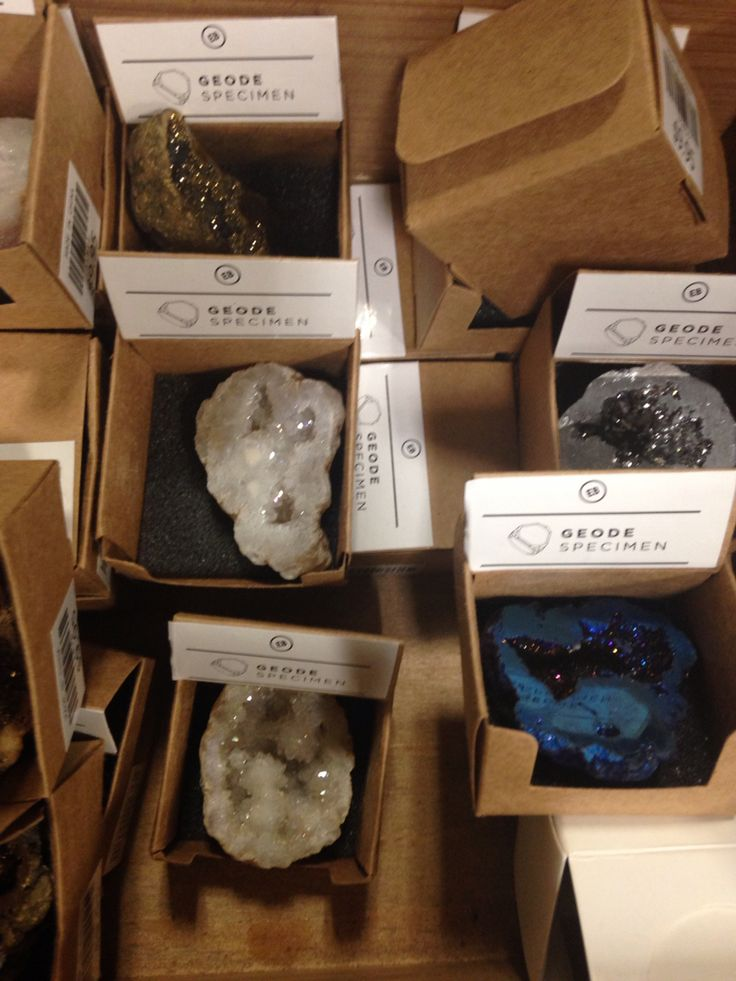 Healing Crystals from Earthbound trading company