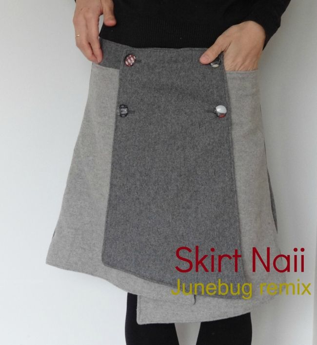 DIY/TUTORIAL SEWING: Skirt Naii- Junebug