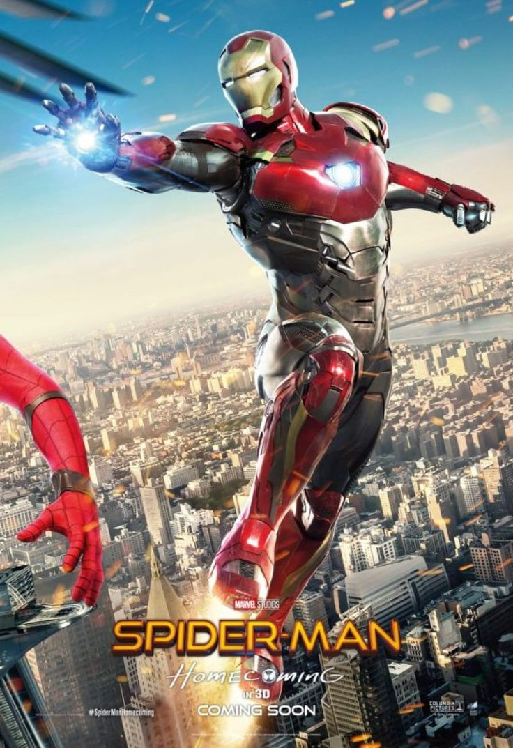 Three New SPIDER-MAN: HOMECOMING Posters Combine Into One Mega-Poster | Birth.Movies.Death.