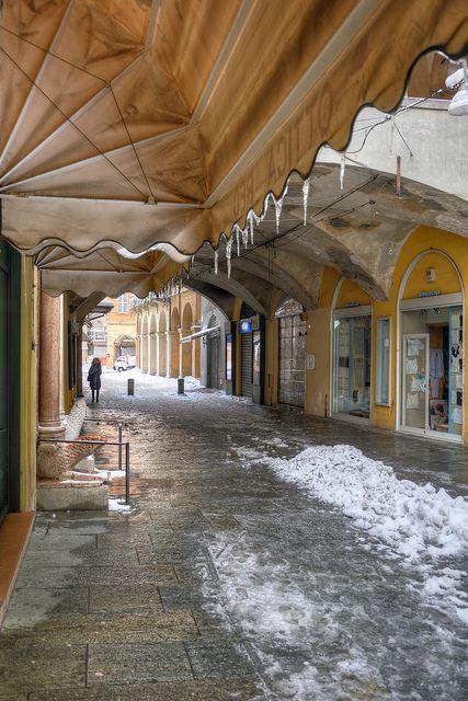 Via Broletto - Reggio Emilia, Italy