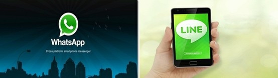 Whatsapp vs Line: Httpelcontentcuratorcom, V Line