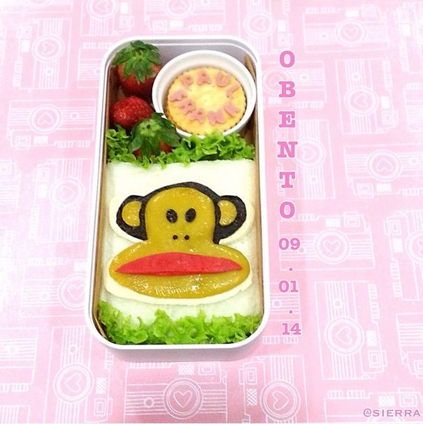 Julius looks good enough to eat! How cute is this PIN-tastic bento box from Pauline T.!?