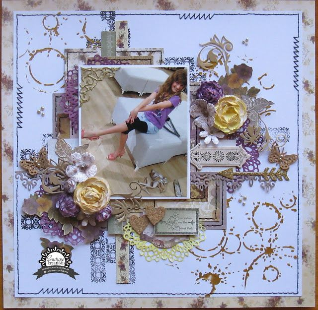 Couture Creations: If the Shoe Fits by Jo Simons | #couturecreationsaus #scrapbooking #family #decorativedies