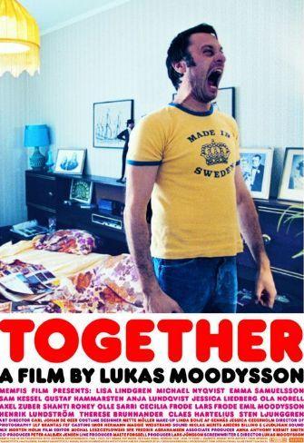 """Together (Tillsammans : original title)  , S-DK-I '00 , by Lukas Moodysson ///  Il bambino """" Sam Kessel"""" (11) viene condotto dalla madre, in fuga dal marito violento, a casa dello zio  che vive  in una comune chiamata """"Tillsammans"""" [Together]  dove  proverà un'innocente attrazione per una quasi coetanea """"Emma Samuelsson """" (15) vicina di casa a cui è stato severamente proibito di avere a che fare con lui.   /// Scena dove lei solleva la maglietta ///"""