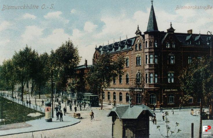 Dzielnica Batory, Chorzów - 1908 rok, stare zdjęcia