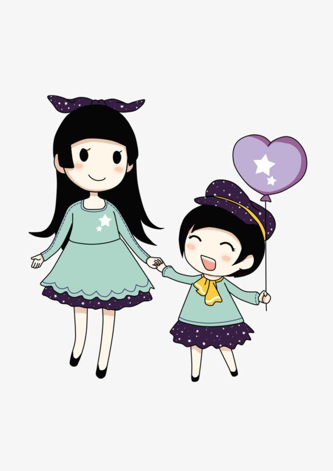 كرتون الأخوات الأخوات رسوم متحركة الأختpng صورة Cute Cartoon Pictures Cartoon Clip Art Cute Couple Wallpaper